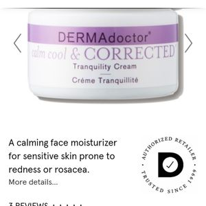 DERMAdoctor calm&cool&CORRECTED Tranquility Cream